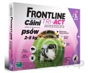 FRONTLINE TRI-ACT SPOT ON PREPARAT NA PCHŁY, KLESZCZE I OWADY LATAJĄCE DLA PSÓW 2-5KG/ 1 SZT.