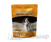 NATURES:MENU DOG 300g SASZETKA