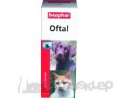 BEAPHAR OFTAL 50ml. Krople do pielęgnacji oczu dla psa i kota