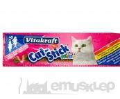 VITAKRAFT CAT-STICK MINI PRZYSMAK DLA KOTA ŁOSOŚ I PSTRĄG 3 SZT.