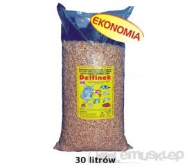 DELFINEK 30L ŻWIREK DREWNIANY